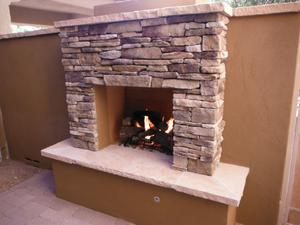 Outdoor Fireplaces #61