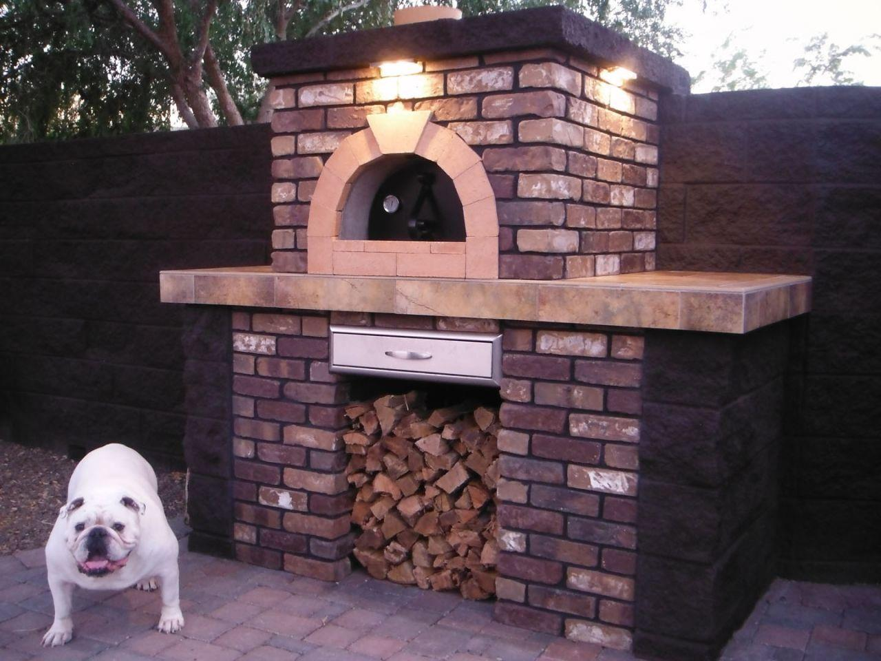Wondering if a custom fireplace would look good in your backyard? Pryor