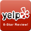 5-Star Review on Yelp